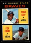 1971 O-Pee-Chee #494   -  Rick Kester / Ralph Garr Braves Rookies Front Thumbnail