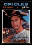 1971 O-Pee-Chee #491  Jim Hardin  Front Thumbnail
