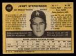 1971 O-Pee-Chee #488  Jerry Stephenson  Back Thumbnail