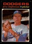 1971 O-Pee-Chee #488  Jerry Stephenson  Front Thumbnail