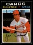 1971 O-Pee-Chee #435  Jose Cardenal  Front Thumbnail