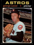 1971 O-Pee-Chee #291  George Culver  Front Thumbnail