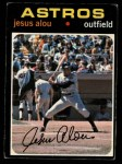 1971 O-Pee-Chee #337  Jesus Alou  Front Thumbnail
