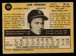 1971 O-Pee-Chee #360  Jim Fregosi  Back Thumbnail