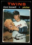 1971 O-Pee-Chee #675  Dave Boswell  Front Thumbnail
