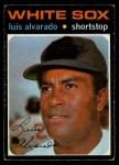 1971 O-Pee-Chee #489  Luis Alvarado  Front Thumbnail
