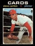 1971 O-Pee-Chee #55  Steve Carlton  Front Thumbnail