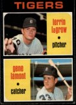 1971 O-Pee-Chee #39   -  Gene Lamont / Lerrin LaGrow  Tigers Rookies Front Thumbnail