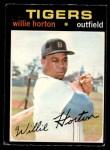 1971 O-Pee-Chee #120  Willie Horton  Front Thumbnail