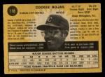 1971 O-Pee-Chee #118  Cookie Rojas  Back Thumbnail