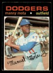 1971 O-Pee-Chee #112  Manny Mota  Front Thumbnail