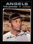 1971 O-Pee-Chee #256  Tony Gonzalez  Front Thumbnail
