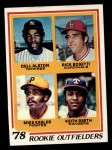 1978 Topps #710   -   Mike Easler / Rick Bosetti / Keith Smith / Del Alston Rookie Outfielders  Front Thumbnail