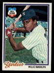 1978 Topps #620  Willie Randolph  Front Thumbnail