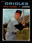 1971 O-Pee-Chee #453  Terry Crowley  Front Thumbnail