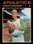 1971 O-Pee-Chee #84  Marcel Lachemann  Front Thumbnail