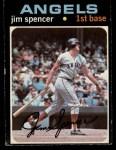 1971 O-Pee-Chee #78  Jim Spencer  Front Thumbnail