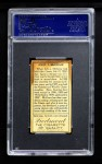 1911 T205  John McGraw  Back Thumbnail