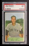 1954 Bowman #210  Jimmy Piersall  Front Thumbnail