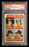 1974 Topps #599 ^LG^  -  Dave Freisleben / Ron Diorio / Frank Riccelli / Greg Shanahan Rookie Pitchers   Front Thumbnail