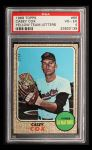 1968 Topps #66 YT Casey Cox  Front Thumbnail
