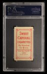1909 T206 #58  Peter Cassidy  Back Thumbnail