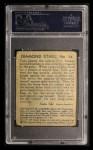 1935 Diamond Stars #74  Tony Lazzeri   Back Thumbnail
