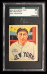 1935 Diamond Stars #74  Tony Lazzeri   Front Thumbnail