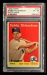1958 Topps #101 WN Bobby Richardson  Front Thumbnail