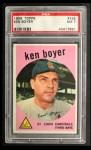 1959 Topps #325  Ken Boyer  Front Thumbnail