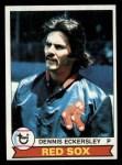 1979 Topps #40  Dennis Eckersley  Front Thumbnail