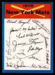 1973 Topps Blue Team Checklists #16   New York Mets Front Thumbnail
