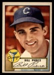 1952 Topps #98  Bill Pierce  Front Thumbnail