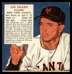 1952 Red Man #8 NL x Jim Hearn  Front Thumbnail