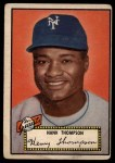 1952 Topps #3  Hank Thompson  Front Thumbnail