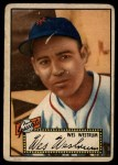 1952 Topps #75  Wes Westrum  Front Thumbnail