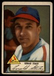 1952 Topps #79 BLK Gerry Staley  Front Thumbnail