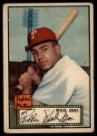 1952 Topps #47  Willie Jones  Front Thumbnail