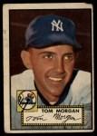 1952 Topps #331  Tom Morgan  Front Thumbnail