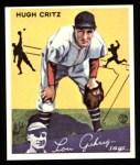 1934 Goudey Reprints #17  Hugh Critz  Front Thumbnail
