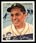 1934 Goudey Reprints #66  Mel Harder  Front Thumbnail