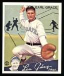 1934 Goudey Reprint #58  Earl Grace  Front Thumbnail