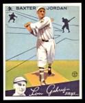 1934 Goudey Reprint #31  Buck Jordan  Front Thumbnail