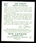 1934 Goudey Reprint #46  Joe Stripp  Back Thumbnail