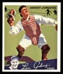 1934 Goudey Reprints #72  Arndt Jorgens  Front Thumbnail