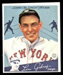 1934 Goudey Reprint #32  Blondy Ryan  Front Thumbnail