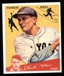 1934 Goudey Reprints #88  Homer Peel  Front Thumbnail