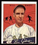 1934 Goudey Reprint #57  Bill Swift  Front Thumbnail