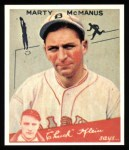 1934 Goudey Reprint #80  Marty McManus  Front Thumbnail