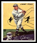 1934 Goudey Reprint #1  Jimmie Foxx  Front Thumbnail